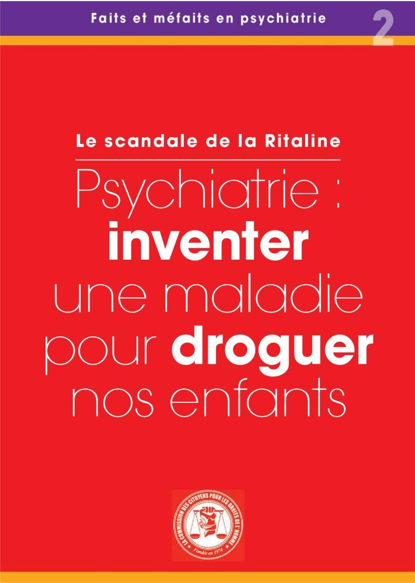 Le scandale de la Ritaline - CCDH